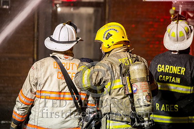Leominster MA - 5 Alarms - 65 Main St - Former Columbia Hotel