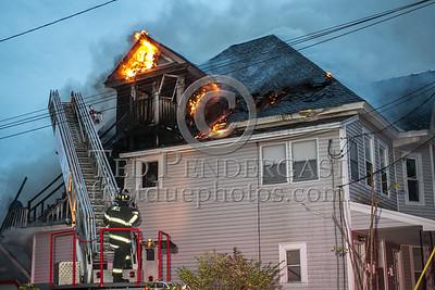 Lowell MA - 3 Alarms - 18-22 Burgess St