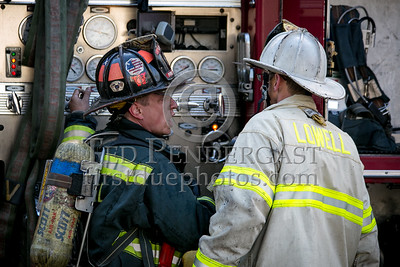Lowell MA - 5 Alarms at Willow St & Chestnut St