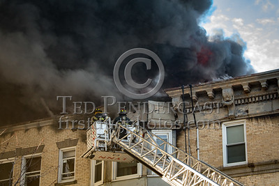 Lynn MA - 5 Alarms at 22 West Baltimore St