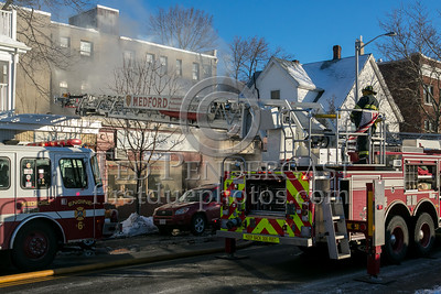 Medford MA - 2 Alarms in a commercial block at 464 Salem St