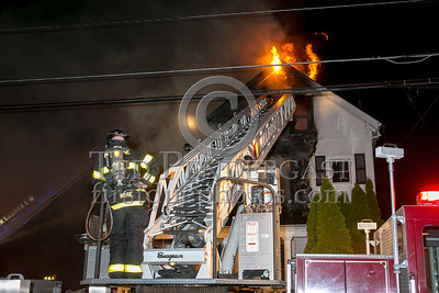 Melrose MA - 3 Alarms at 504 Lebanon St