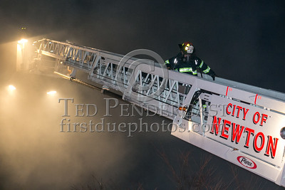 Newton MA - 3 Alarms - 355 Newtonville Ave