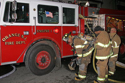 A Bottle Change At Orange NJ Engine 1