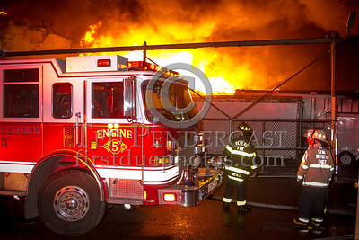 Revere MA - 5 Alarms on Squire Rd - Sozio's