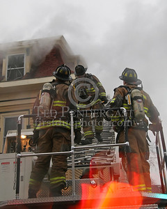 Coming Off The Roof After Venting Windows On The Third Floor