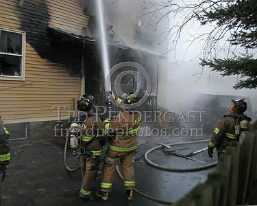 Operations At The Rear Of The Building