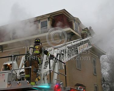 Ladder 1 Operating At The Alpha/Delta Corner