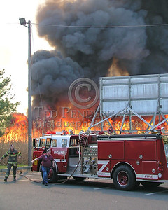 Heavy Fire/Smoke; Engine 5 Secaucus Preparing For The Fight
