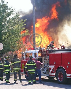 Fire Rapidly Progressing on Engine 5's Position; Preparing to Reposition The Apparatus