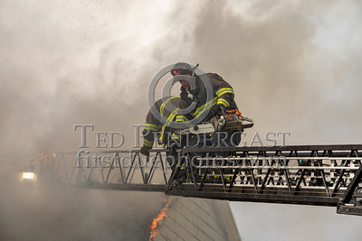 Somerville - 3 Alarms on Teele Ave