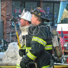 Boston District Chief And Truckie On Mutual Aid