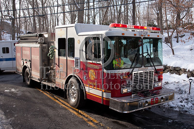 Stamford CT - Long Ridge Fire District - Working Fire on Mill Road