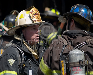 Battalion Chief S.Q., NHRFR -- 2 Alarms Transmitted On Arrival For A Fire In A Store Front At 530 31st. Street In Union City, New Jersey.