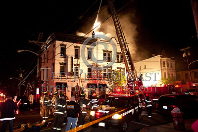 Union City NJ - 3rd Alarm - 1912 New York Av - Vacant Funeral Home
