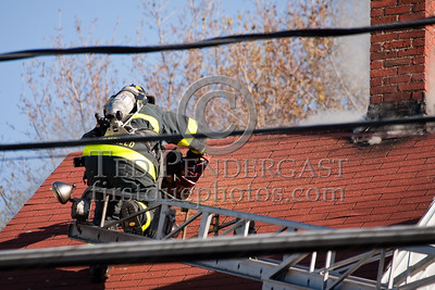 Wakefield MA - 4 Alarm House Fire 28 Richardson St