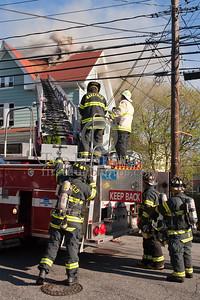 Wakefield MA - 4 Alarm House Fire 28 Richardson St