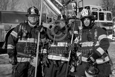 Waltham MA - 4 Alarms Box 411 for 62 School Street