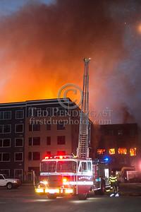 Waltham MA - 8 Alarms off Elm St