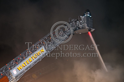 Watertown MA - 3 Alarms at 313 Main St