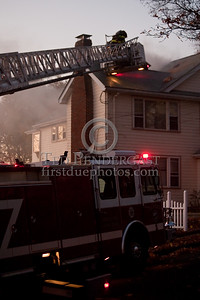 Fri., Nov.6,2009 - Watertown,MA - 2 Alarms, 54 Channing Rd