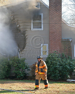 Power Venting The Room Of Origin; Trapped Smoke From Attic Window