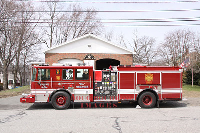 New Engine 3 (2010 Seagrave Marauder II) just before entering service, April 2011.