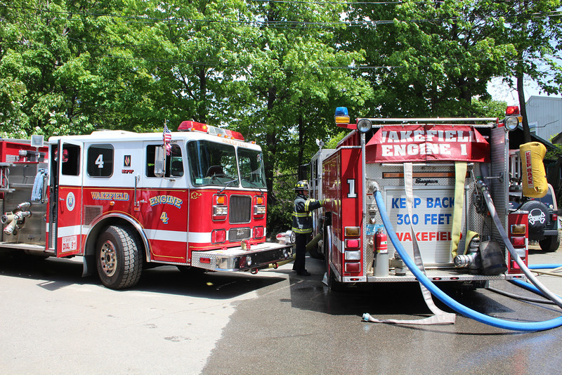 Wakefield Reserve Engine 4 - 1996 Seagrave 1250/750/30F <br /> Wakefield Engine 1 - 2007 Seagrave 1250/750/30F