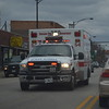 Chicago Fire Department ambulance.