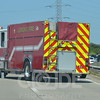 Lemont Fire Protection District on scene of a motorcycle crash.