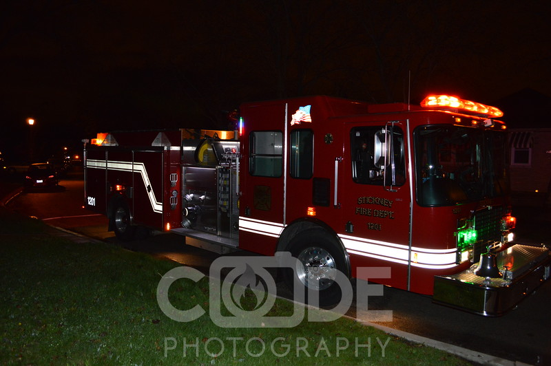 Berwyn Fire Department house fire that went to Full Still. Fire in the attic. All photo's will NOT have watermark when purchased.