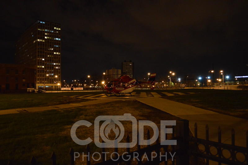 Superior's Air Med on landing pad. All photo's will NOT have watermark when purchased.