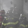 Wyandanch House Fire with Injured Firefighter- Paul Mazza