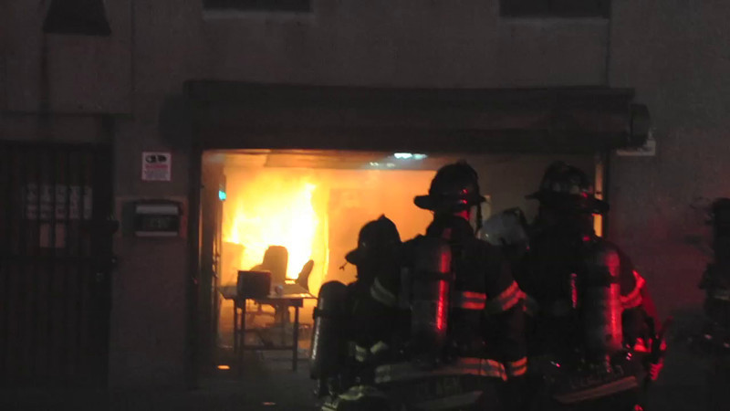 F.D.N.Y. Brooklyn 4th Alarm 860 Humboldt St. 3/18/14