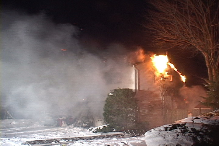 Levittown F.D. Signal 10 12 Forrester Ln. 12/28/10