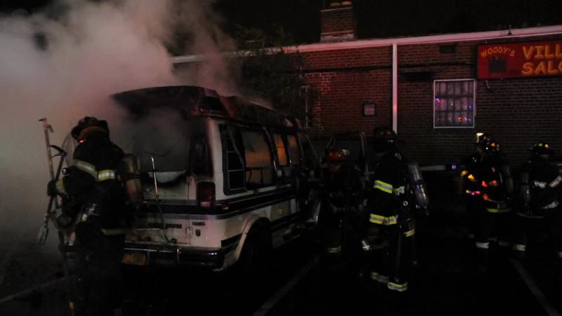 Massapequa F.D. Van Fire T/R/O 131 Front St. 8/18/12
