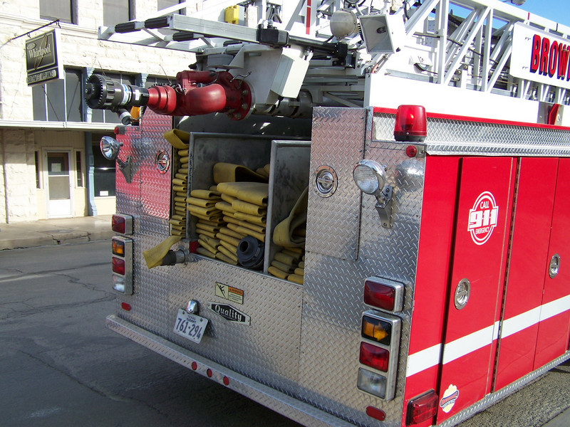 Rear of BFD's Quint 1