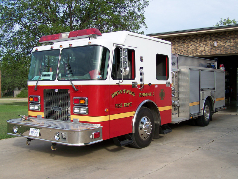 Brownwood Fire Departments Engine 2