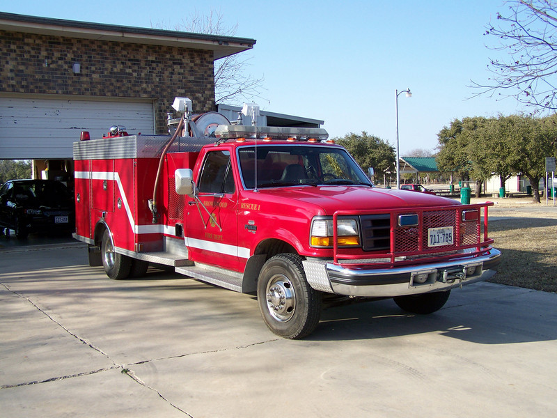 Former Rescue 1, now housed at Station 2, soon to be renamed Booster 2