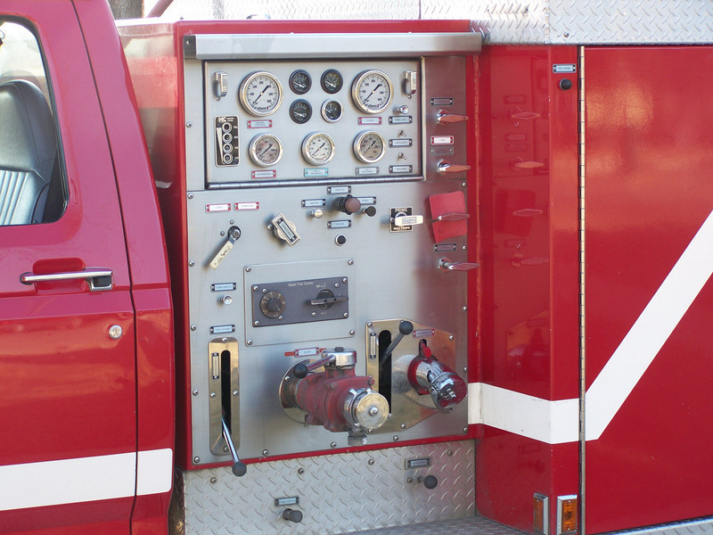 Pump panel from Former Rescue 1 for BFD
