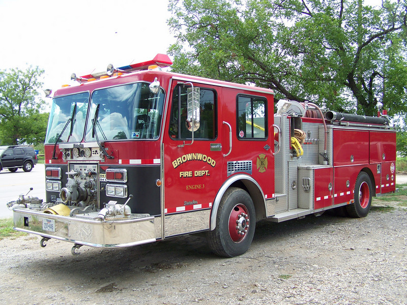 Brownwood Engine 3, used as a reserve truck.