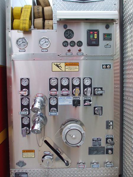 Pump Panel on Engine 2