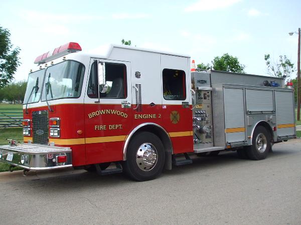 Brownwood Fire Department Engine 2