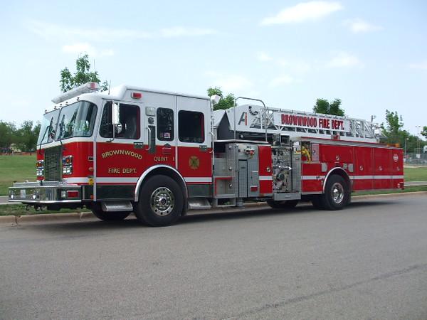 Brownwood Fire Department Quint 1