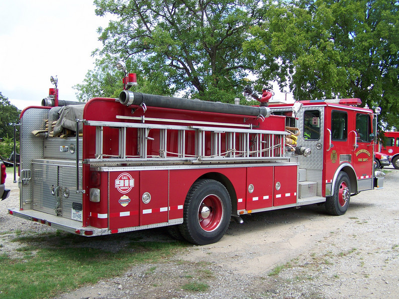 BFD Engine 3, Used as a reserve engine, housed at Station 1
