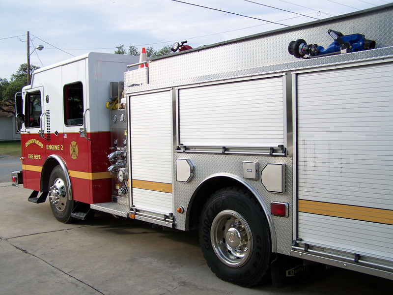 Engine 2, for Brownwood Fire
