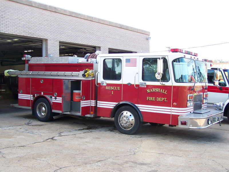 Marshall Fire Departments Rescue 1