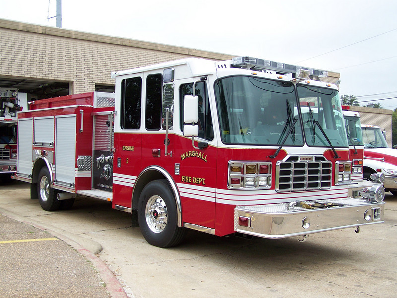Marshall's brand new Engine 2. Arrived Early 2009