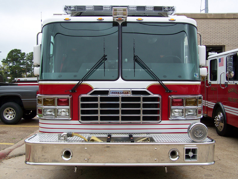 Front of MFD's New Engine 2