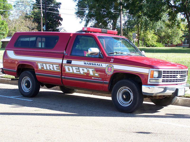 Marshall Fire Department's General Purpose truck